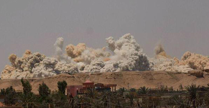 Ramadi has been the scene of some intense clashes between Iraqi forces and ISIS.