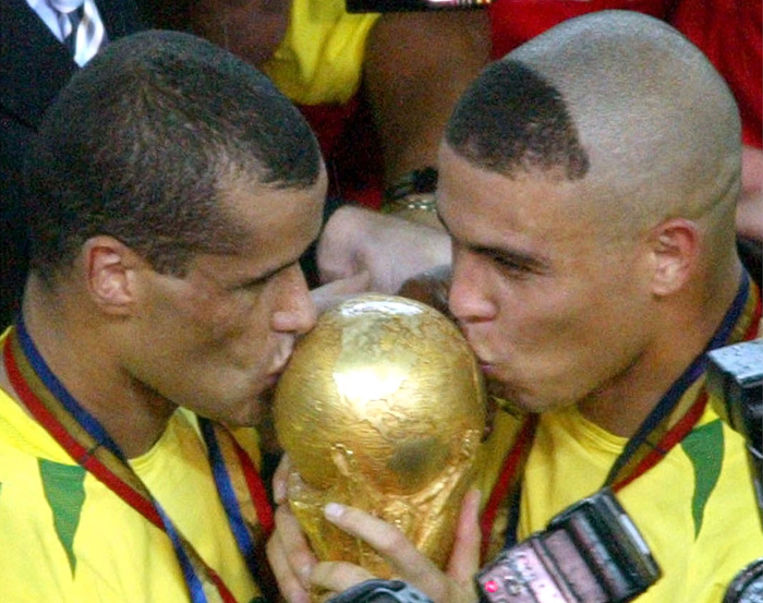 Rivaldo won the World Cup for Brazil in 2002.