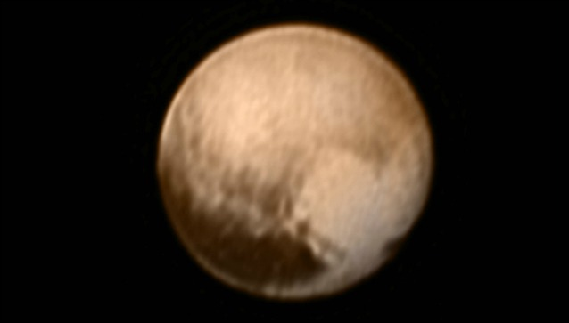 Pluto flyby