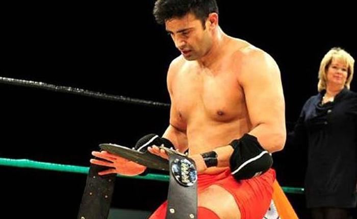 Sangram Singh won the WWP commonwealth championship.