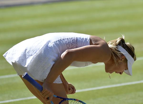 Guess this Wimbledon player