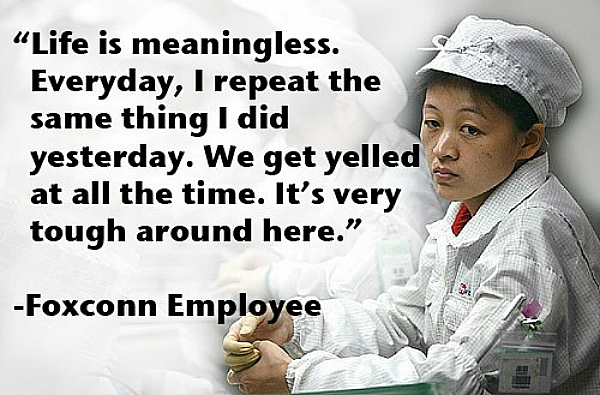 foxconn employee culture