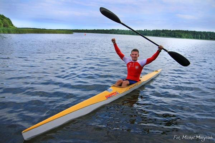 Spickzo is also a Kayaking champion in Poland.