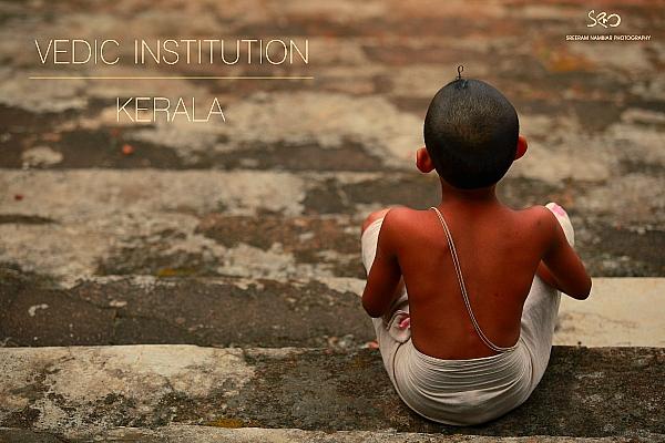 vedic school kid