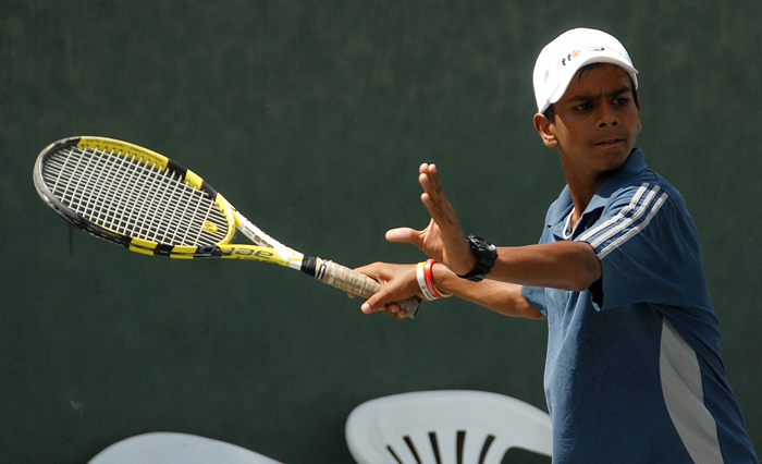 Sumit Nagal started his tennis career at the age of 8.