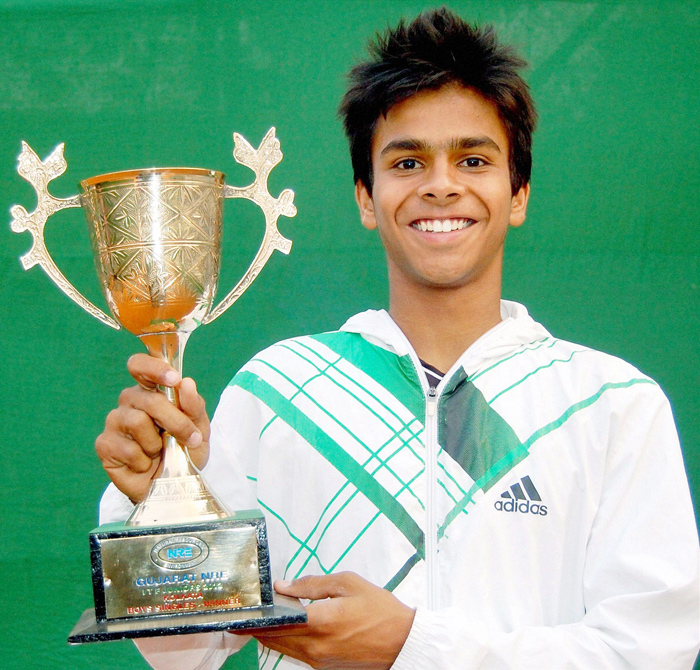 Sumit is the sixth Indian to win a grand slam final.