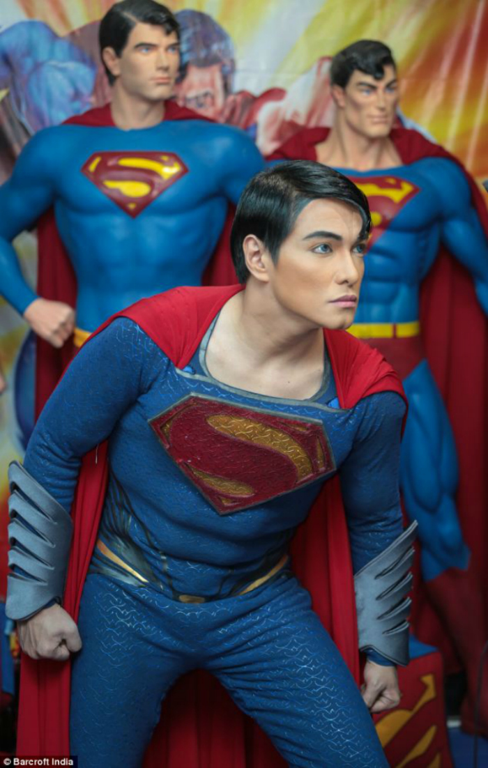 He Had 23 Surgeries To Look Like Superman, Now Doctors Want Him To Stop Before He Dies