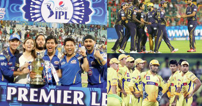 Out of the 10 teams, four teams came from the IPL.