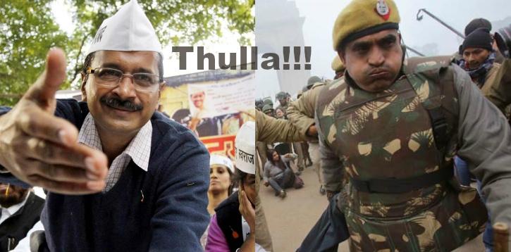 Thulla comment hurt cops