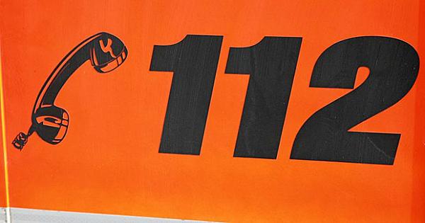 112 number