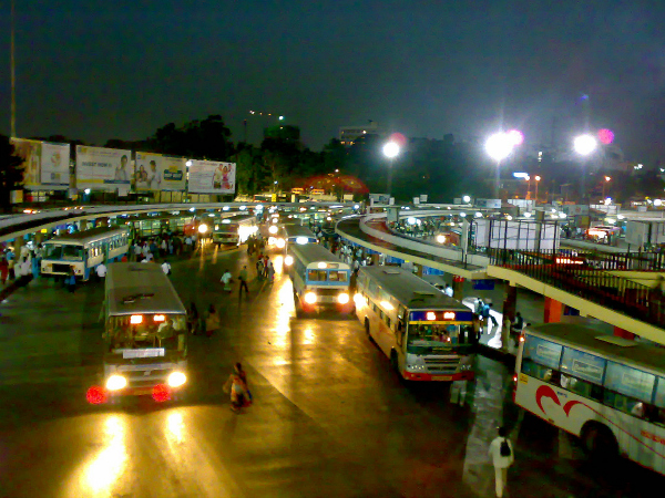 bus stand south india