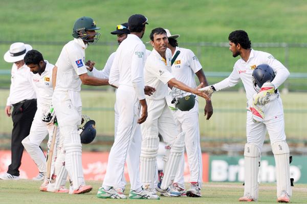 Younis Khan celebrates