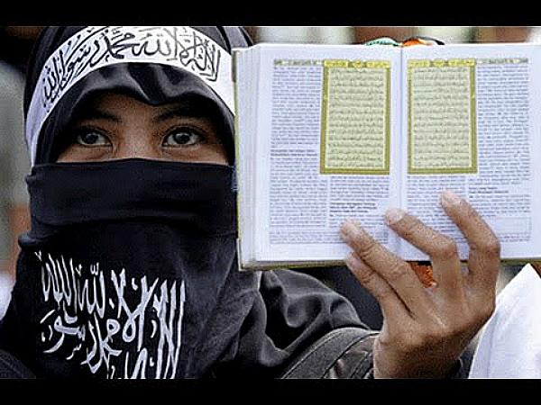 women quran ISIS