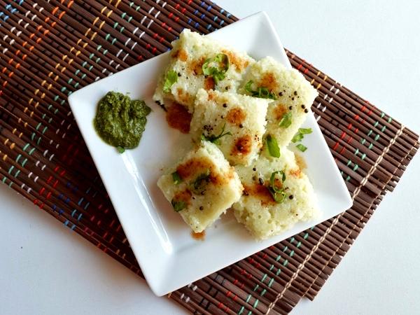 Super Healthy Sprouts Dhokla Recipe