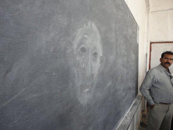 ghosts blackboard