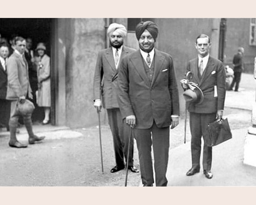 Maharajah of Patiala in London to attend Chamber of Indian Princes