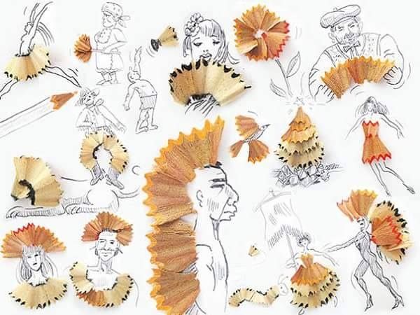 pencil shaves