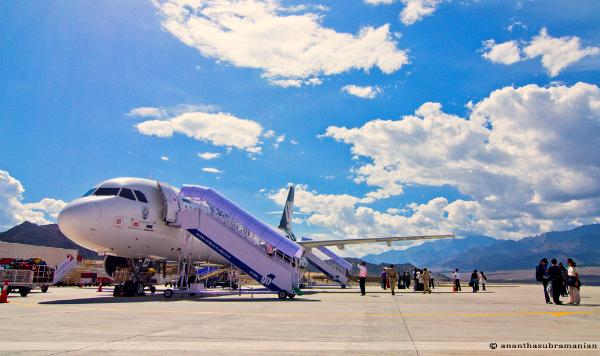 ladakh airport