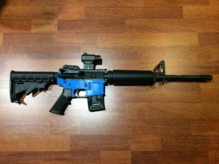 3D Printed Assault Rifle