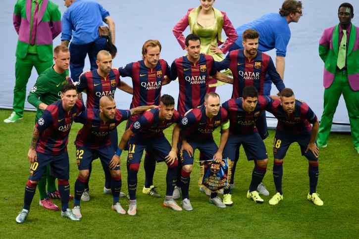 barca champions league final starting lineup