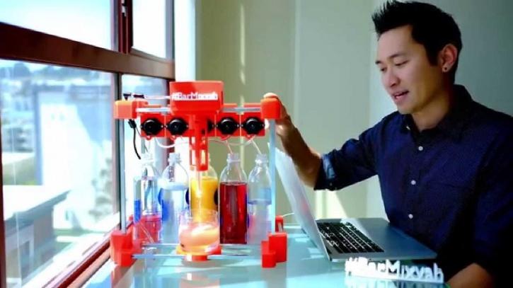 3D Printed Bar Machine
