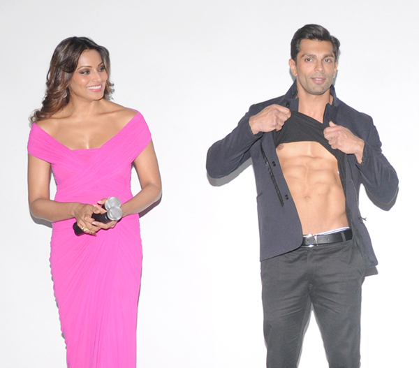 Bipasha with Karan