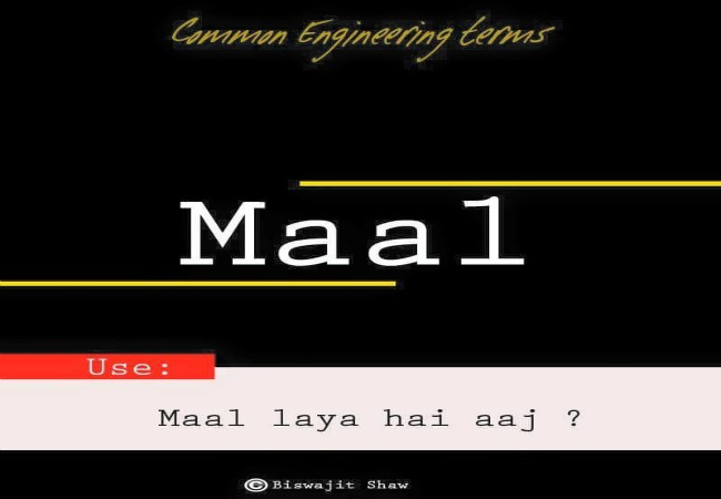 Signature Term Used By Engineering Students Almost Everyday