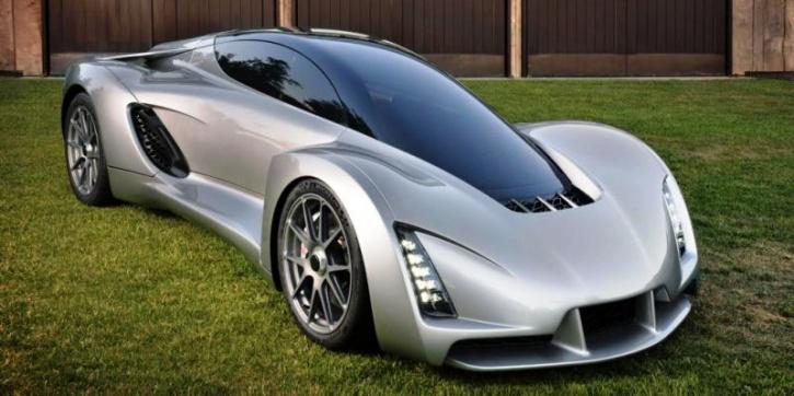 The Blade Supercar