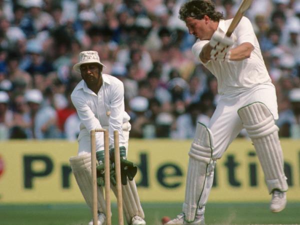 Ian Botham bowled