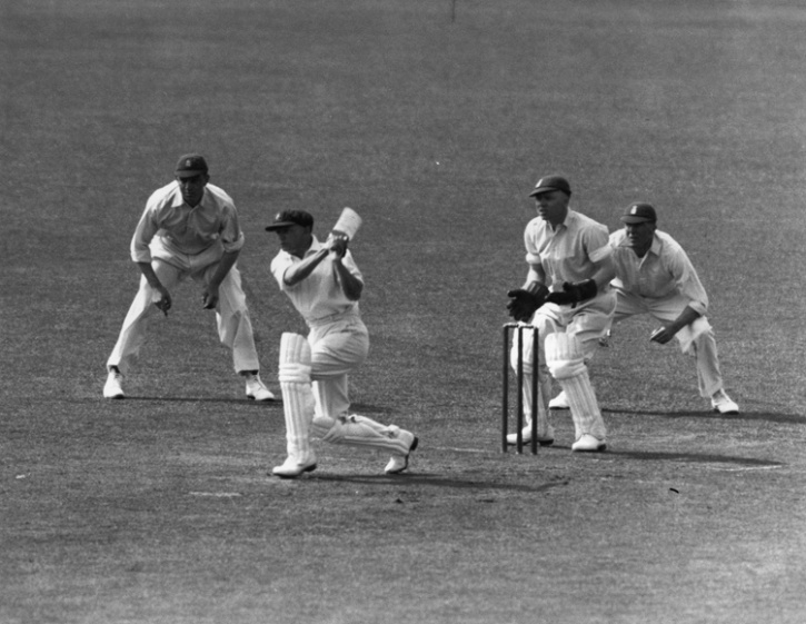 Sir Don Bradman was England's prime nemesis