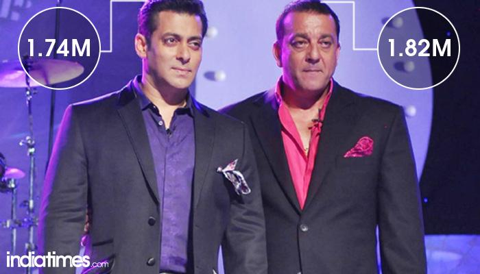 Sanjay Dutt and Salman Khan