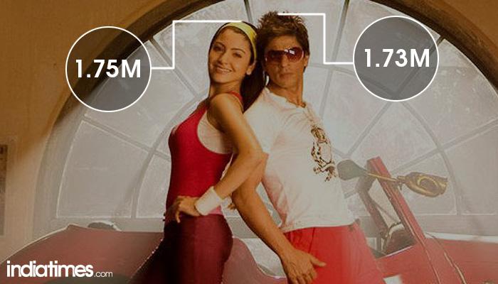 SRK and Anushka Sharma