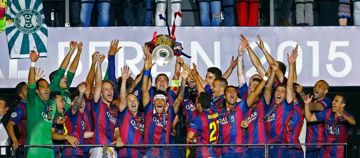 Barcelona Win UCL 2015