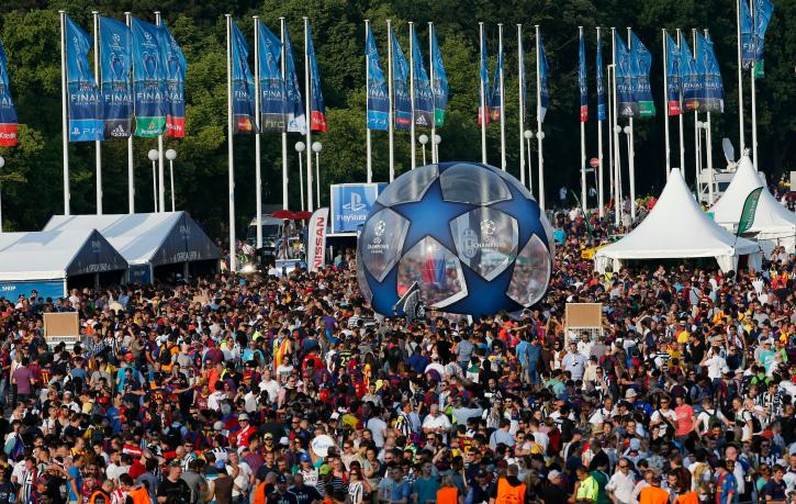 champions leagyue final Olympiastadion