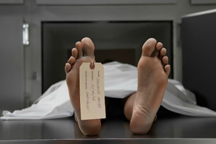 living with dead wife