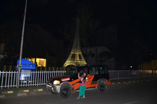 eiffel tower india