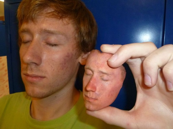 3D Printed Face