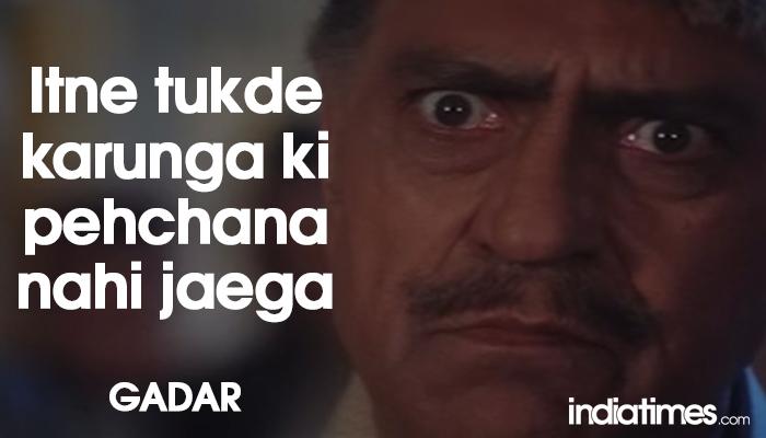 Epic Dialogue By Amrish Puri In Gadar
