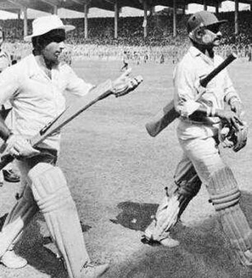 Sunil Gavaskar and Chetan Chauhan