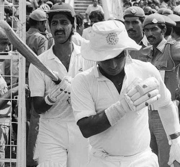 Sunil Gavaskar Kris Srikkanth
