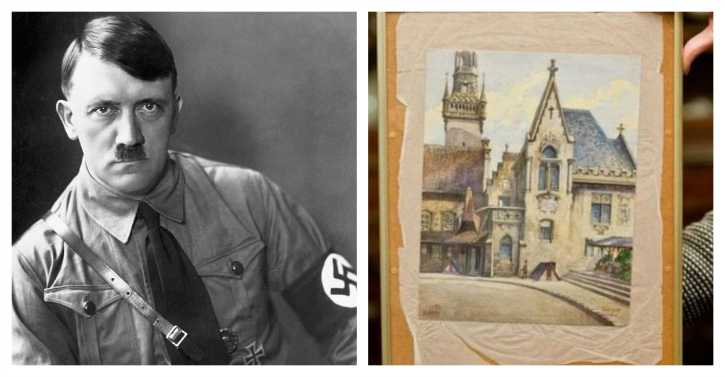 Chinese Man Spends Rs 73 Lakhs On Buying A Painting By Hitler