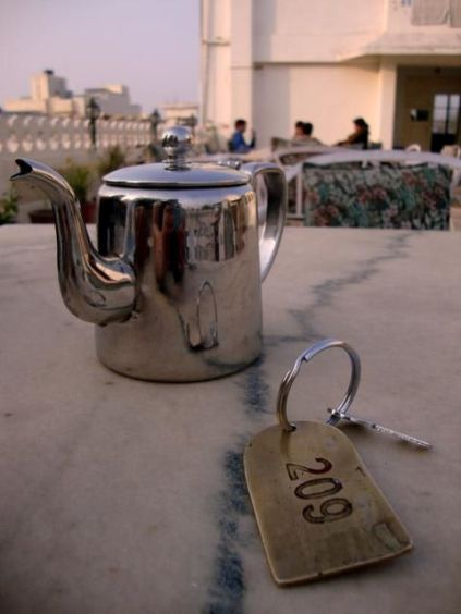 pot and keys