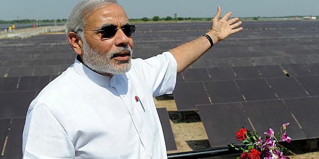 modi solar energy