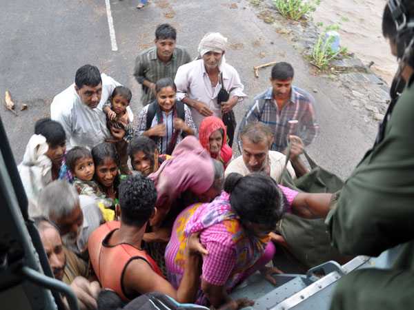 IAF rescue