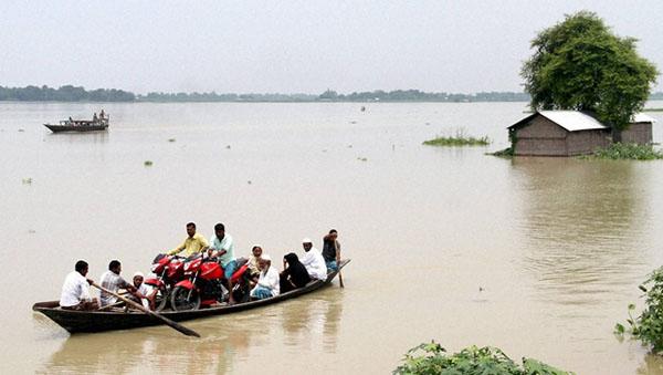 #assam floods 2015