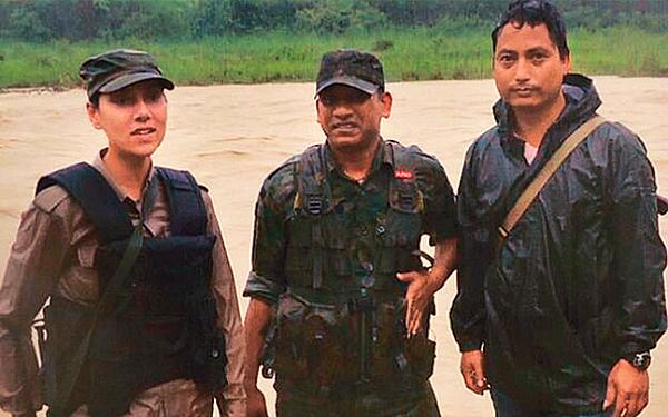 assam first lady officer
