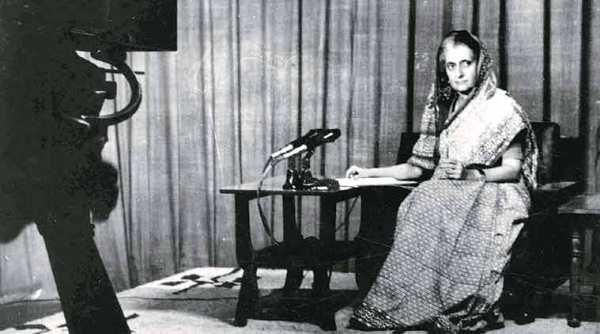 Indira Gandhi during the Emergency