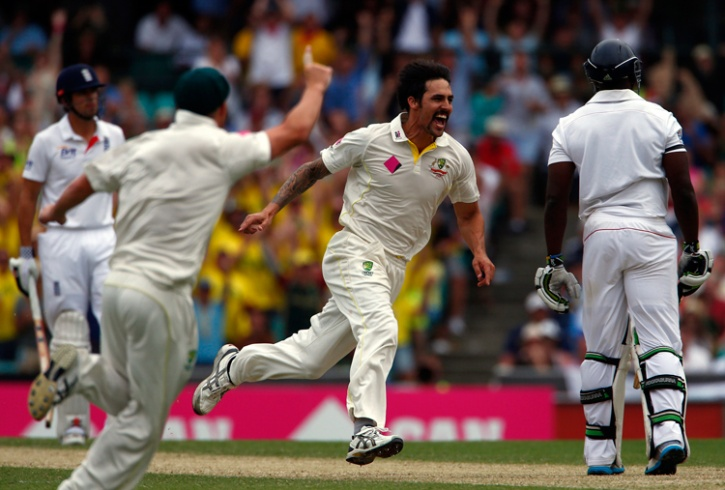 Mitchell Johnson terrorised England in the 2013/14 Ashes