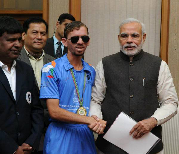 Ketan Patel with PM Modi