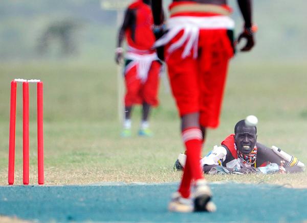 Maasai wicketkeeper